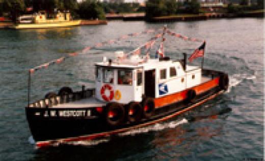 J. W. Westcott II floating post office