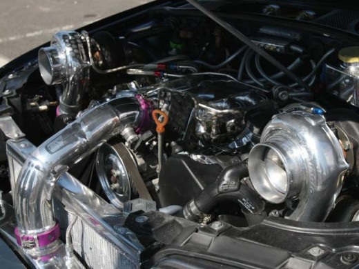Twin Turbo Engine