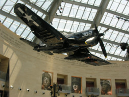An F-4U Corsair at the Marine Corps Museum, June 17, 2011