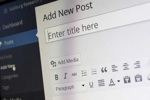 a picture of a basic blog template