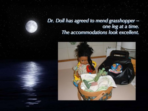 Dr. Doll is called upon.