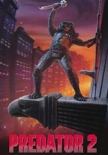 "Promotional poster for ""Predator 2"""