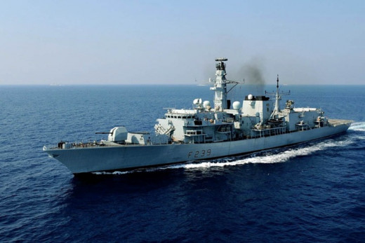 HMS Richmond will assist in tackling people smugglers