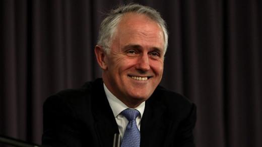 Australia's new prime minister Malcolm Turnbull