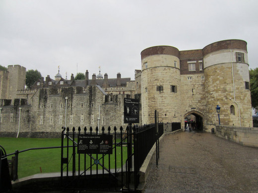Haunted Places in London; Tower of London