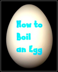 How To Boil Eggs - Simple Instructions on Boiling Eggs