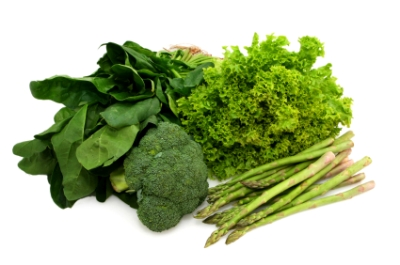 Bitter tasting foods like these dark green vegetables promote a healthy lymphatic system.