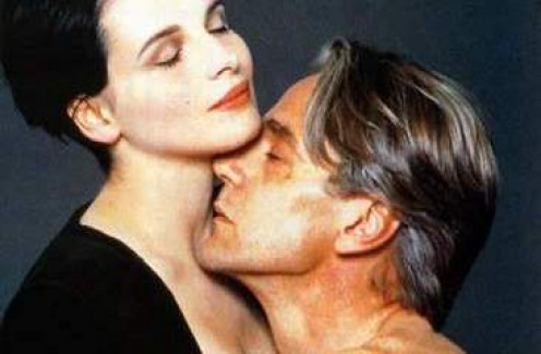 "Juliette Binoche and Jeremy Irons in ""Damage"""