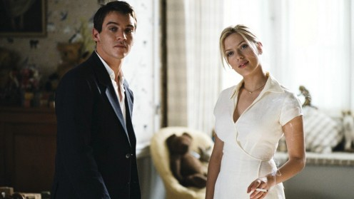 "Jonathan Rhys Meyers and Scarlett Johansson in ""Match Point"""