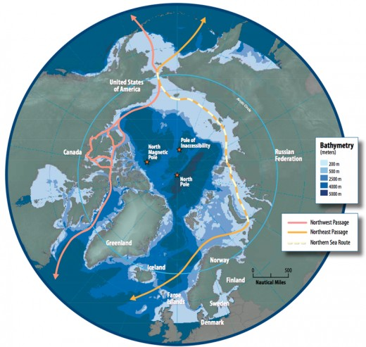 The North Poles in 2008.