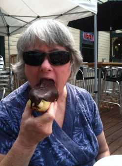 I make special trips to my favorite eatery in Port Gamble, WA for these decadent eclairs.