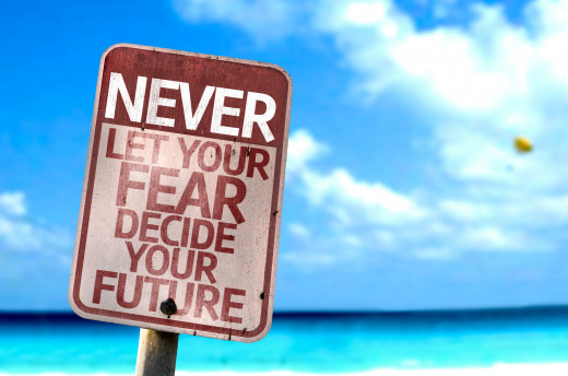 Conquer Your Fear Because You Paint Your Future