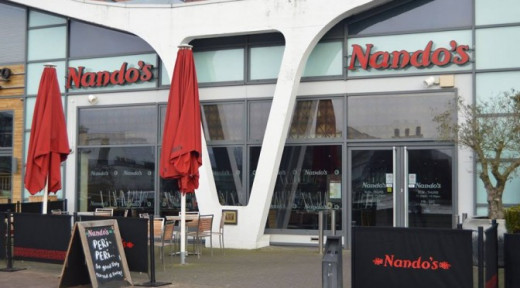 Nando's in Lincoln, United Kingdom.