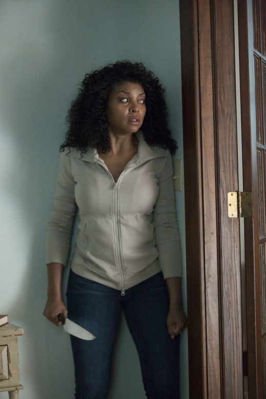 "Academy award nominated Taraji P. Henson in ""No Good Deed"""