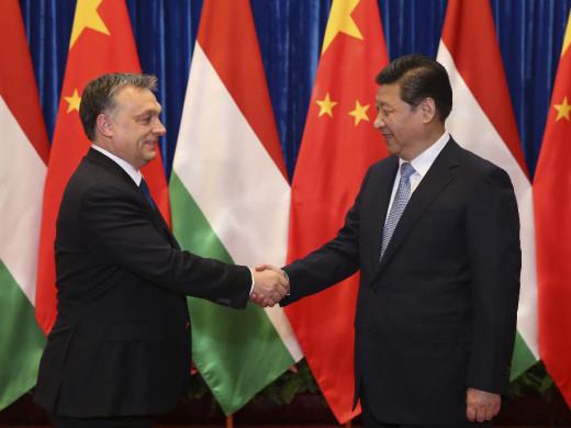 Hungary's key economic partner China.
