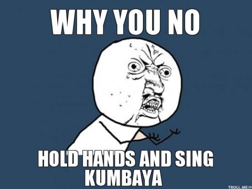 All the really good Kumbayah memes had too many profanities..