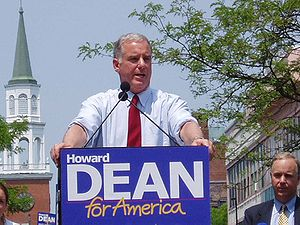 Howard Dean was a devout populist on the 2004 presidential campaign trail, but has since endorsed Hillary Clinton over Bernie Sanders for 2016.