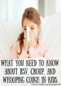 What You Need to Know about RSV, Croup, and Whooping Cough (Pertussis) in Kids