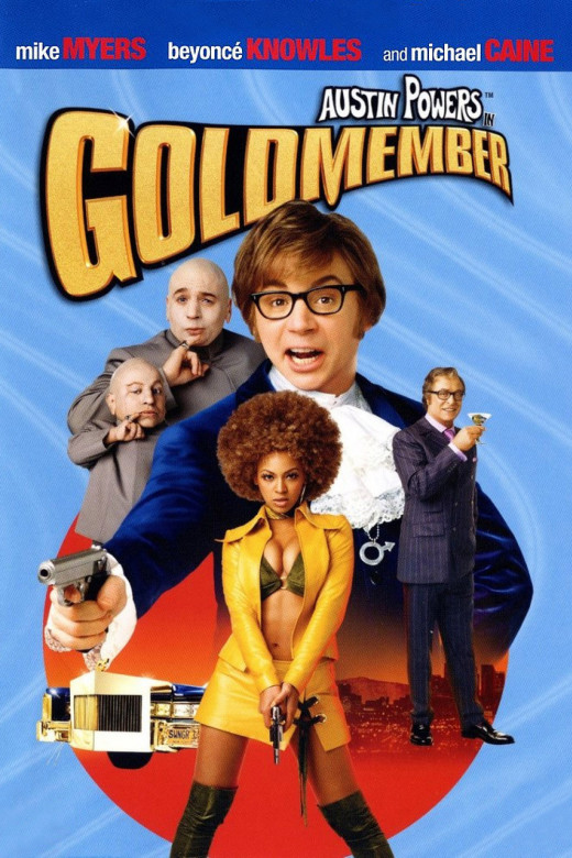 "Promotional poster for ""Austin Powers In Goldmember"""