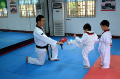 Training children in self-defense from a young age develops self esteem and respect