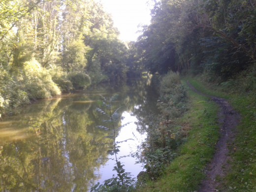Kennet & Avon canal, east of Wootton Bridge