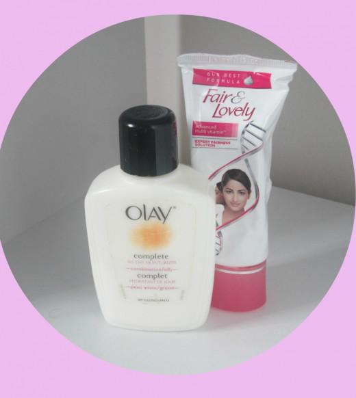 Olay Complete All Day & Fair&Lovely Fairness Cream