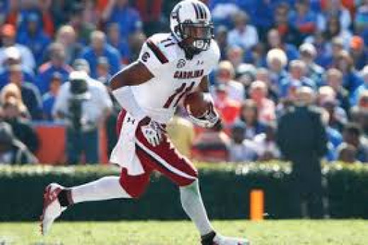 WR Pharoh Cooper (South Carolina)