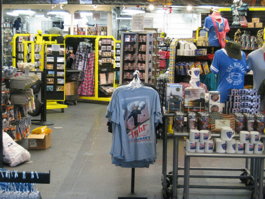 Gift Shop Aboard USS Midway