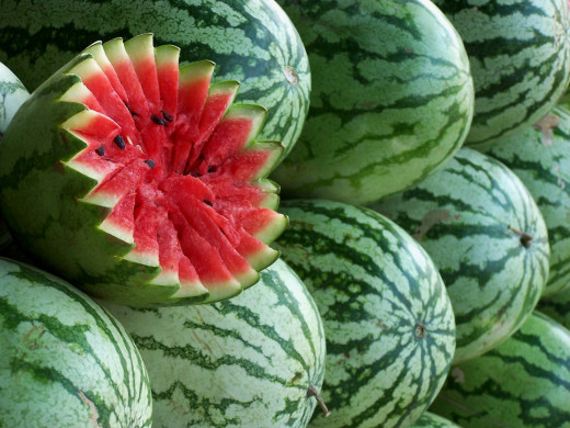 Watermelon is a special kind of fruit