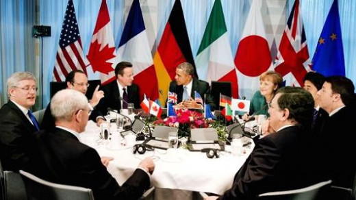 Germany is also a member of the G7 organisation.