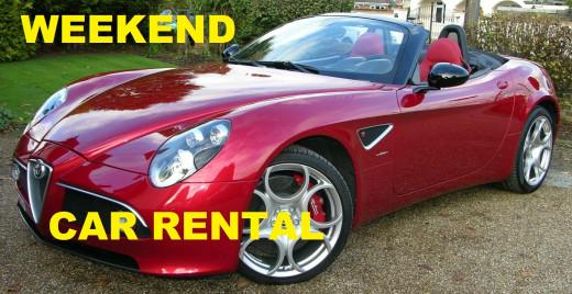 Best Weekend Car Rental