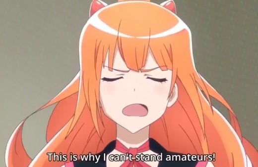 Michiru Kinushima, typical annoying tsundere