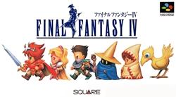 Final Fantasy IV Japanese Boxart