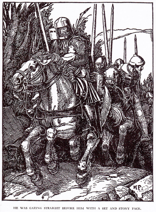 One of my favorite Chapter Books is The Man With the Silver Hand by Howard Pyle.