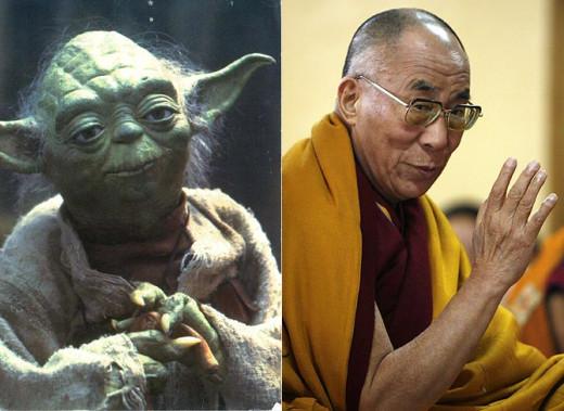Yoda and the Dalai Lama