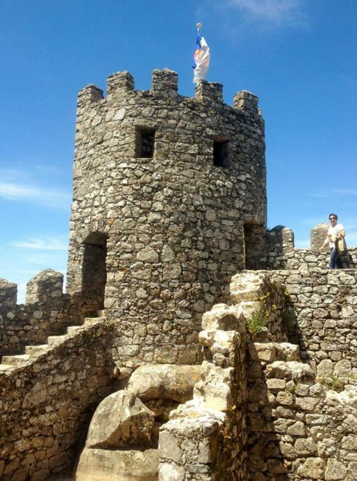 Castle in Lisbon, Portugal