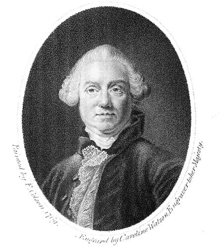 An Engraving of Samuel Foote by Caroline Watson
