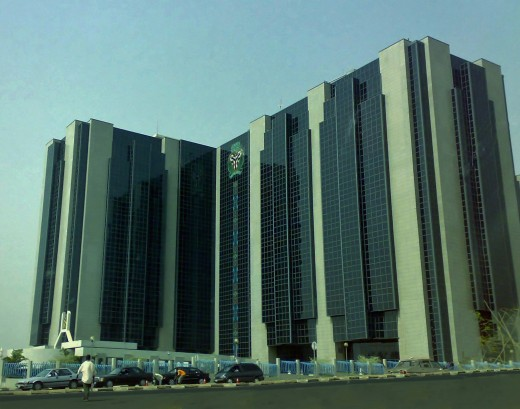 Central bank Nigeria building. The central bank of Nigeria is the major regulatory financial body in nigeria.