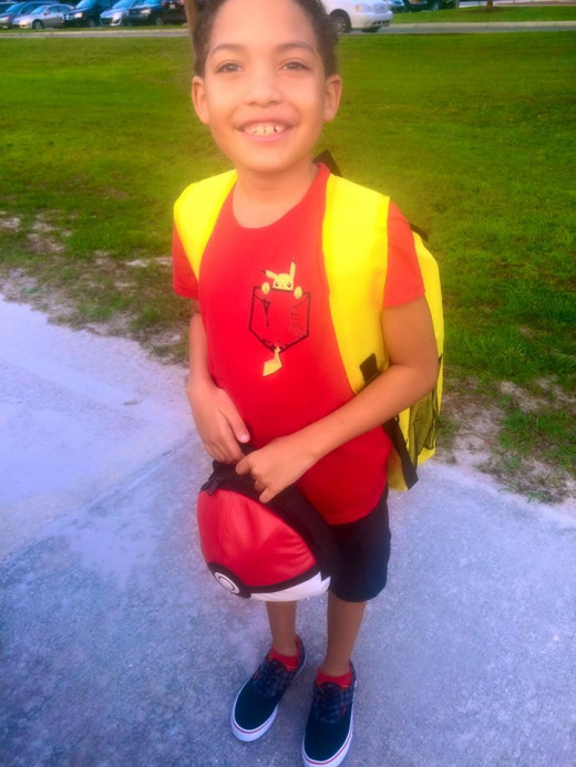 Parker first day of school 2015