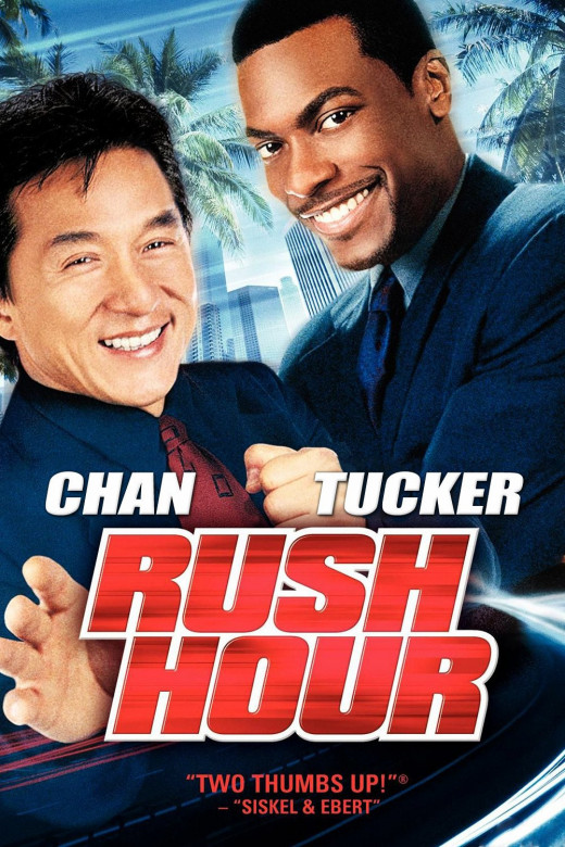 "Promotional poster for ""Rush Hour"""