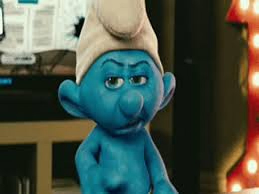 "Grouchy Smurf: ""I Hate Everything!"""