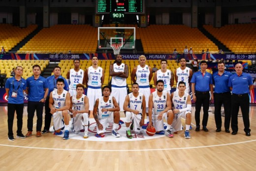 Men's Basketball Philippine Team, FIBA Asia Championship 2015