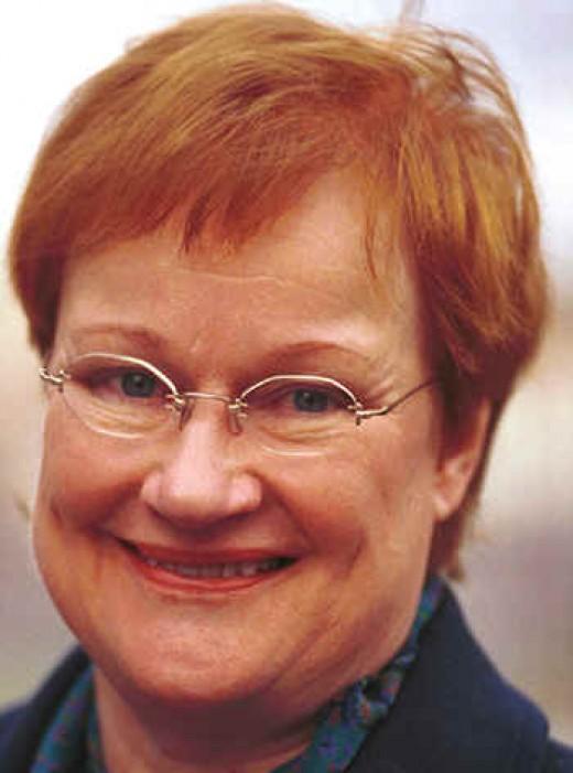 Tarja Halonen, President of Finland