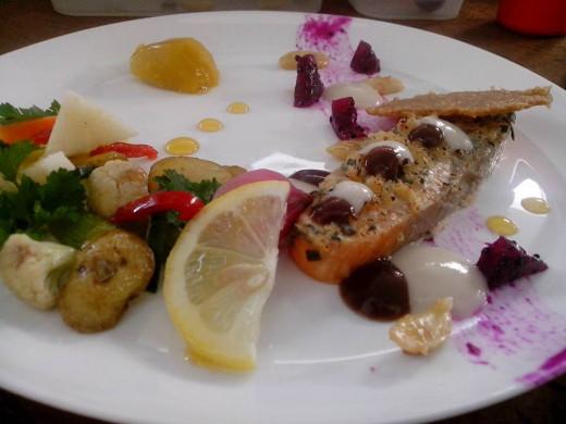 SQUID DISH IN PILI NUT SAUCE Photo Source: Ireno Alcala