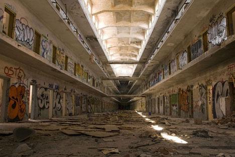Carabanchel prison in Spain.