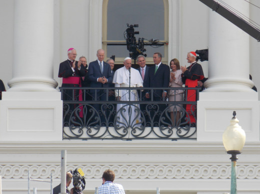 Pope Francis at the U.S. Capital