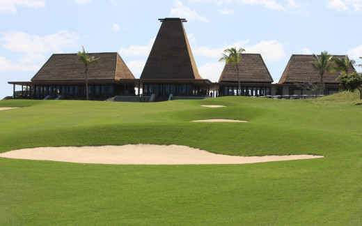 The Clubhouse at the Intercontinental Golf Resort, Natadola Bay, Fiji