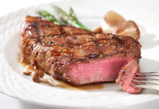 Steaks are stuffed with proteins and so are nuts, beans and chickens.