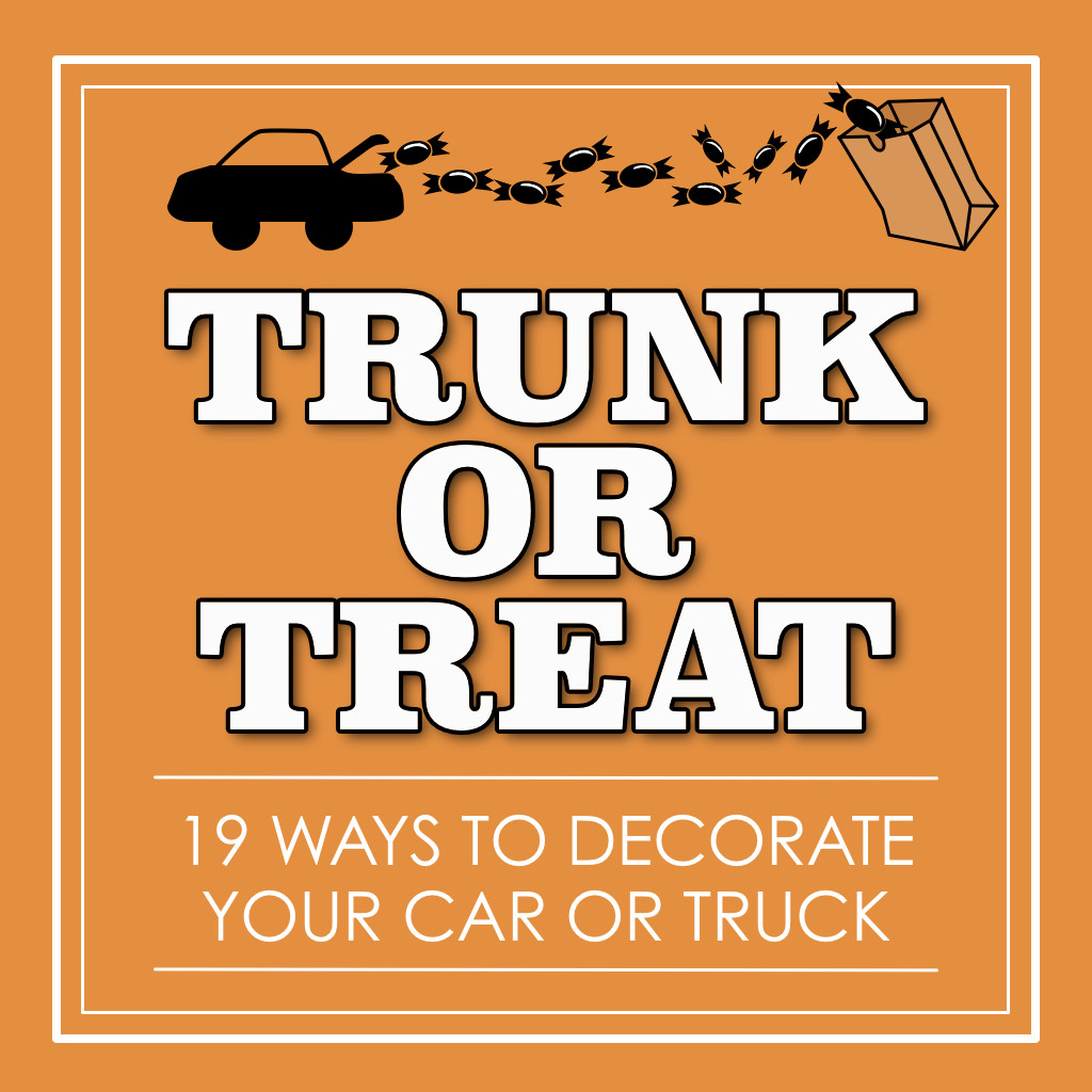 19 Trunk-or-Treat Decoration Ideas for Your Car at Fall Festivals and ...