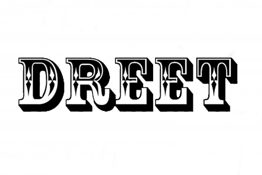 The artist used digital tools to trace a font for a t-shirt design, making a neat and clean word.